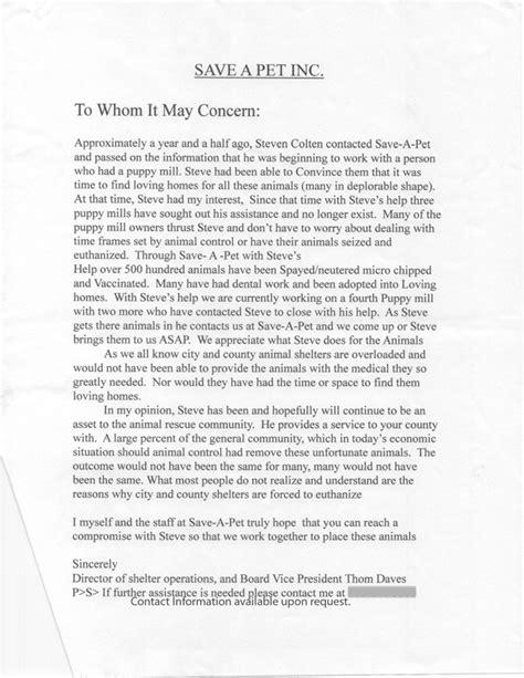 Testimonial Letters - ARRRF Dog Adoption Agency661.526.4278