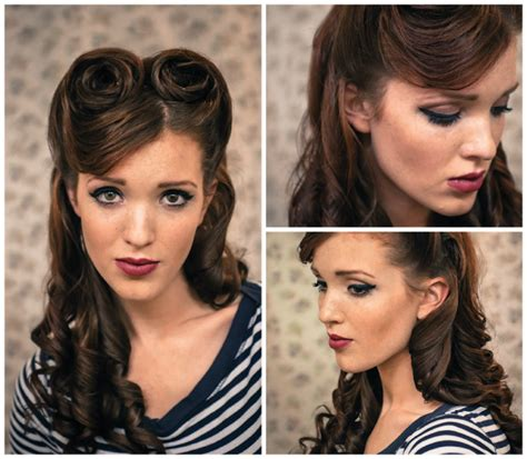 1940s Hairstyle Tutorial by 18 Graceful Vintage Hairstyle Tutorials Styles Weekly