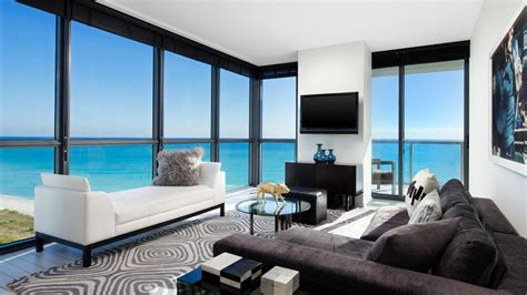 Hotel Suites In Miami W South Beach And Fabulous Bedroom