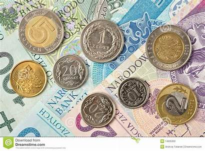 Polish Money Coins Notes Zloty Currency Poland