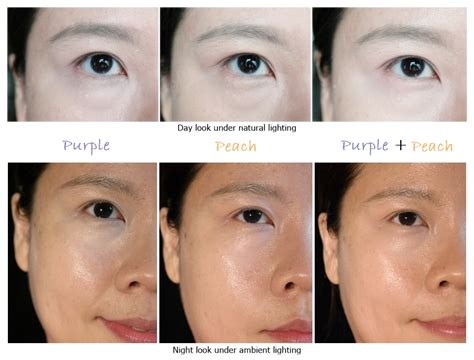 purple color corrector how to reduce eye bags circles ft