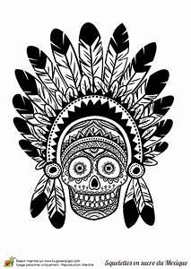 Crane Mexicain Dessin : coloriage cr ne en sucre mexicain indien ~ Melissatoandfro.com Idées de Décoration