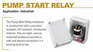 Pump Start Relays For Irrigation Systems
