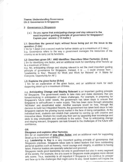 structured essay booklet