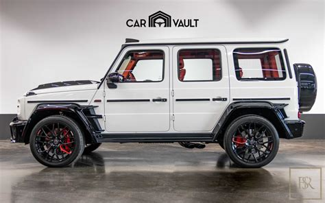 Vip motors is the biggest luxury car showroom in uae specialized in car dealership. New 2020 Mercedes G63 700 Brabus white for sale | For Super Rich
