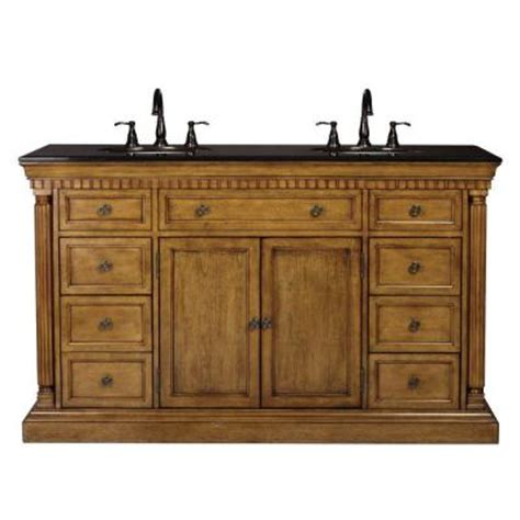 home depot double sink vanity home decorators collection bradford 60 in double vanity