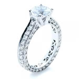 filigree engagement ring custom and filigree engagement ring bellevue seattle joseph jewelry