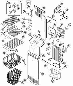 Appliance Repair Parts Global  Mzd2766gew Freezer Parts