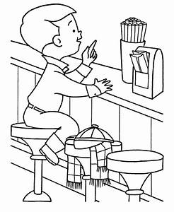 Restaurant Coloring Pages – coloring.rocks!