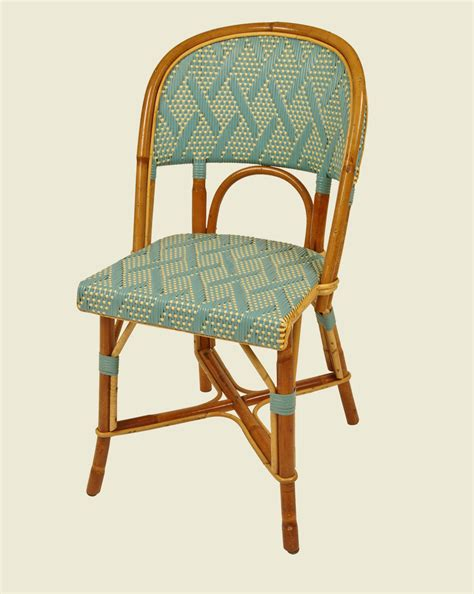 chaise drucker matignon chair petrol blue ivory maison drucker