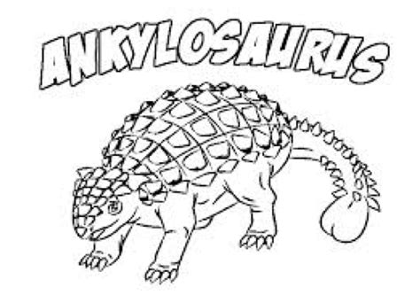 Triceratops Kleurplaat by Ankylosaurus Coloring Page Coloring Book