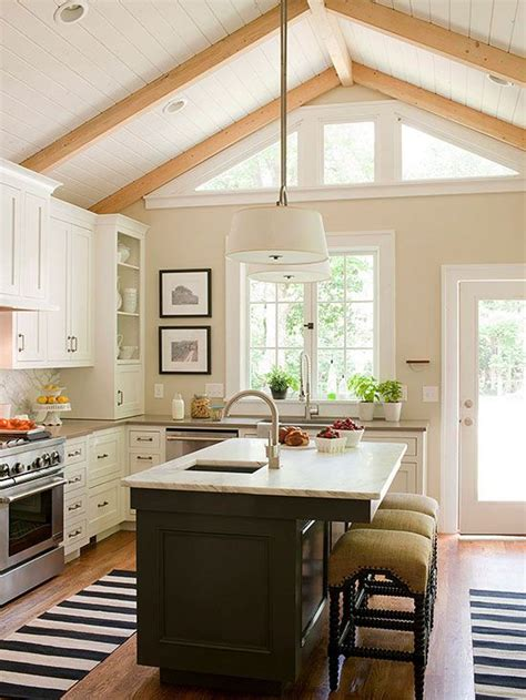 25+ Best Ideas About Vaulted Ceiling Kitchen On Pinterest