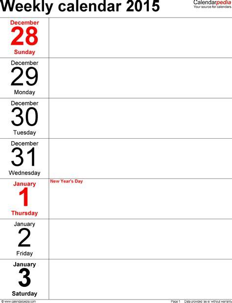 10 day calendar template 10 day calendar template calendar template 2018