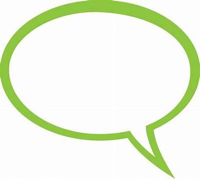 Bubble Text Clipart Message Clip Say Speech