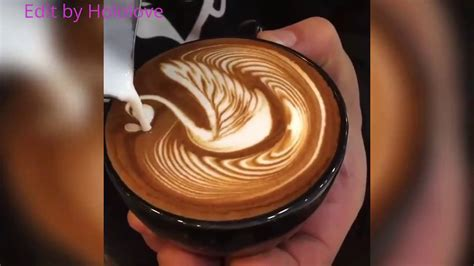 The Most Satysfying Cappuccino,latte Art 2017