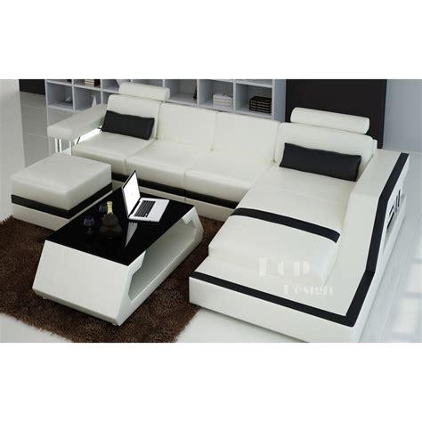 canapé design gris canape gris et blanc reverba com