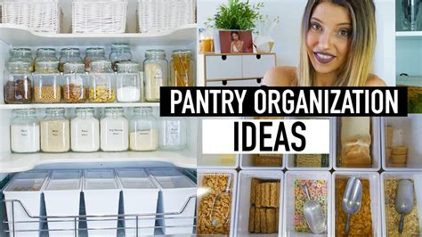 kitchen organization ideas on a budget pantry organization ideas pantry makeover on a budget 9497