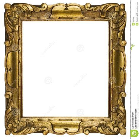 gold bilderrahmen bilderrahmen gold kubik pfad eingeschlossen stockfoto bild kunst zoll 446368