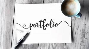Confused About What To Include In Your Portfolio Check