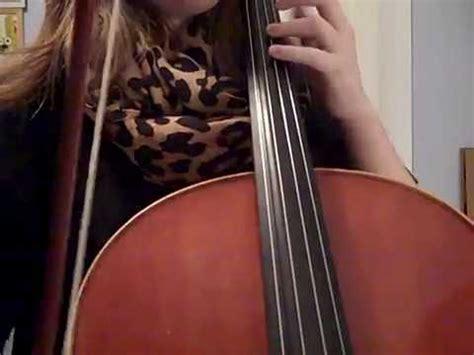 animals maroon  cello cover youtube