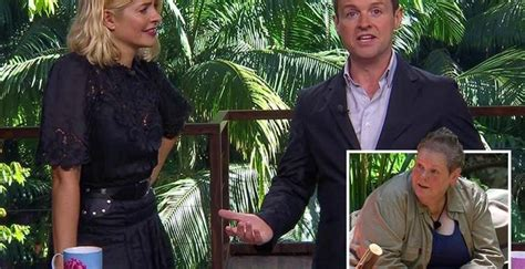Declan Donnelly mocks Anne Hegarty for being ruled out of ...