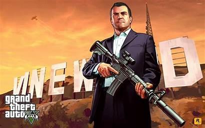 Theft Grand Michael Gta Games Wallpapers