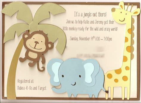 jenski family updates katies jungle baby shower