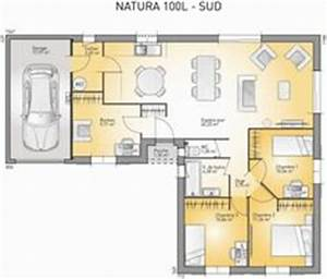 1000 images about plans de maisons on pinterest floor With ordinary plan maison en l 100m2 9 vente de plan de maison contemporaine