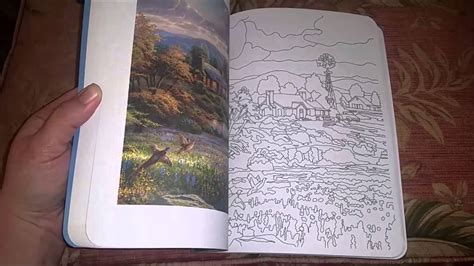 posh adult coloring book thomas kinkade designs youtube