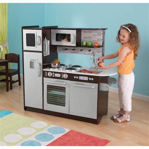cuisine dinette cuisine dinette enfant en bois uptown expresso kidkraft maison jardin loisirs