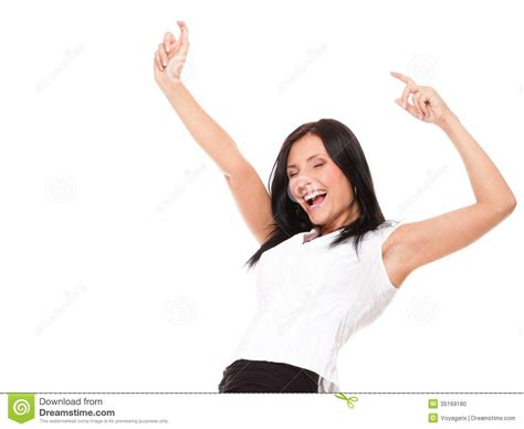 Images Of Excitement Clenching Arms In Excitement Stock Photo Image