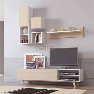 Meuble TV Composition TV Design Scandinave MAXI