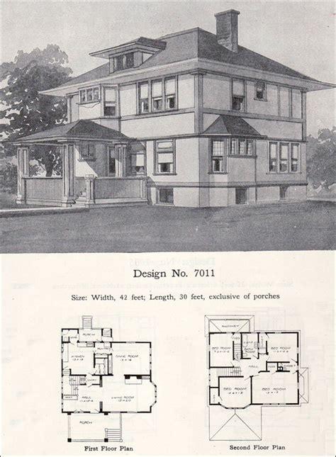 early prairie style  william  radford plan