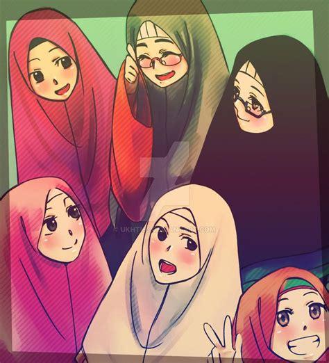 anime islam best friends islamiah friends