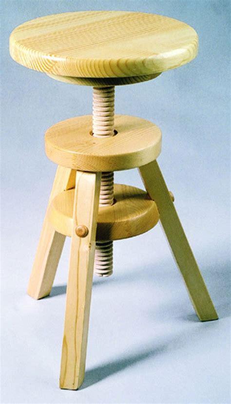 tabouret bois reglable en hauteur tabouret en bois r 233 glable pouf tabouret soldes salon promos