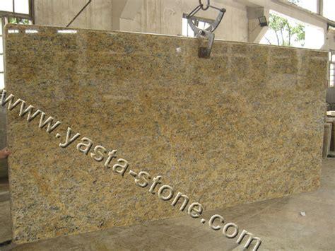 brazil gold granite countertops island tops laminated edges