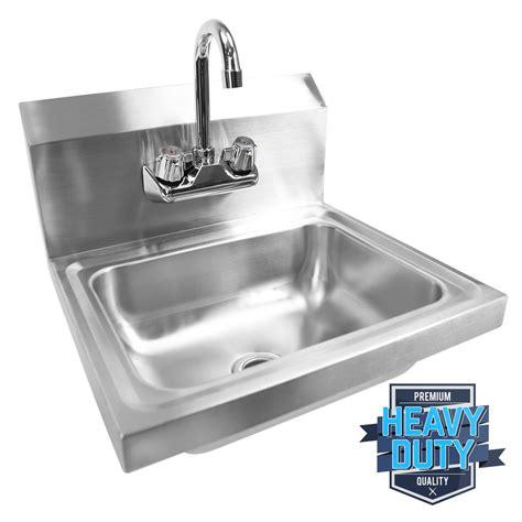 kitchen wash sink stainless steel wash washing wall mount 8285