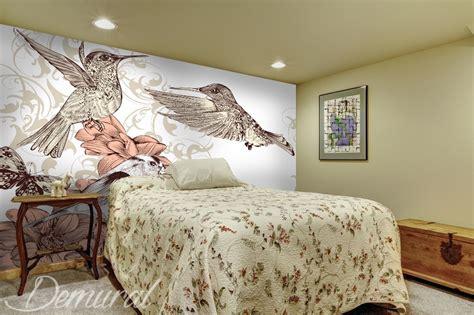 papier peint chambre a coucher adulte comme un oiseau multicolore papier peint pour le