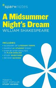A Midsummer Nightu002639s Dream Sparknotes Literature Guide