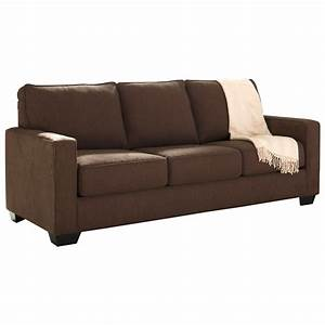 Ashley signature design zeb 3590339 queen sofa sleeper for Ashley sleeper sofa
