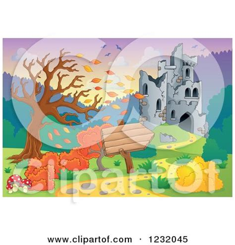 Clipart Cracking Crumbling Ancient Building