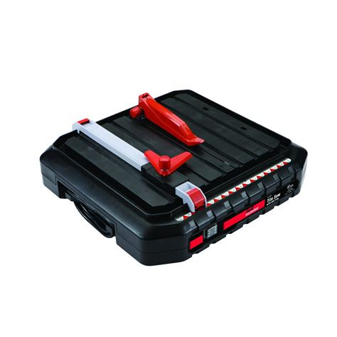 4 1 2 in portable wet cut tile saw