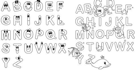 alfabeto colorato per bambini da stare alfabeto da colorare da stare