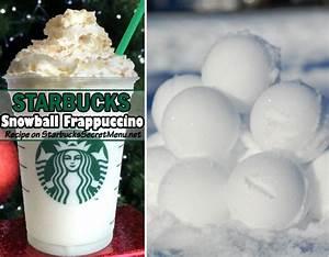 Starbucks Snowball Frappuccino | Starbucks Secret Menu