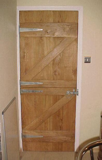 internal stable door   oak
