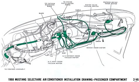 1968 Mustang Air Conditioning Wiring Diagram by Wrg 3746 Ford Schematics