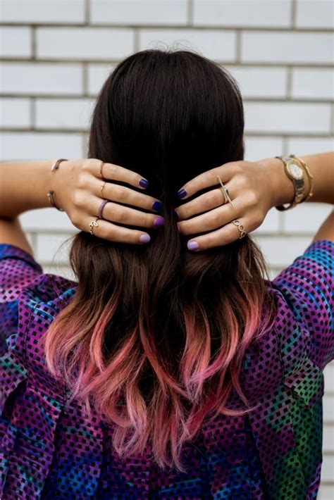 Best 25 Pink Dip Dye Ideas On Pinterest