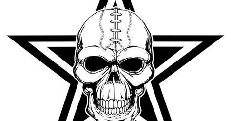 custom dallas cowboys football skull  shirt dallas
