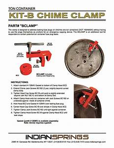 Emergency Kit B Chime Clamp Instructions