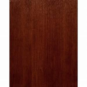 Modern Rustic Wood Wallpaper - Cherry Wood Brown